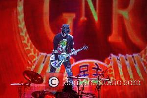 DJ Ashba of Guns N'Roses performing live in concert at the Capital FM Arena Nottingham, England - 19.05.12