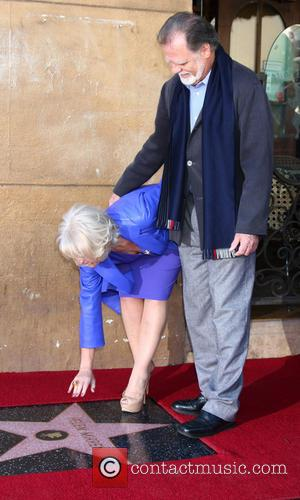 Helen Mirren Thrilled To Be Lying Next To Firth On Hollywood Boulevard