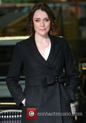 Keeley Hawes at the ITV studios London, England - 08.03.12