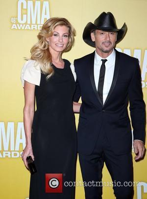 Faith Hill, Tim McGraw 46th Annual CMA Awards Inside Bridgestone Arena In Nashville Tennessee, USA - 01.11.12