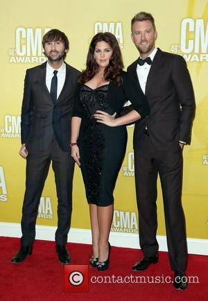 Lady Antebellum 46th Annual CMA Awards Inside Bridgestone Arena In Nashville Tennessee, USA - 01.11.12