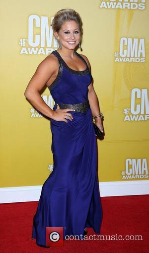 Shawn Johnson 46th Annual CMA Awards Inside Bridgestone Arena In Nashville Tennessee, USA - 01.11.12
