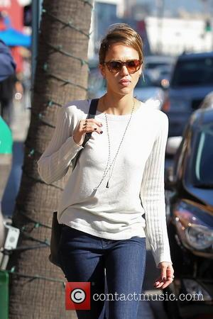 Jessica Alba and Beverly Hills