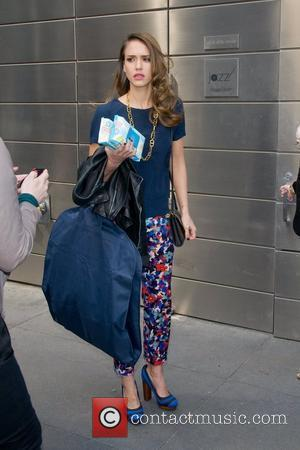 Jessica Alba out and about in Manhattan,  New York City, USA - 10.05.12