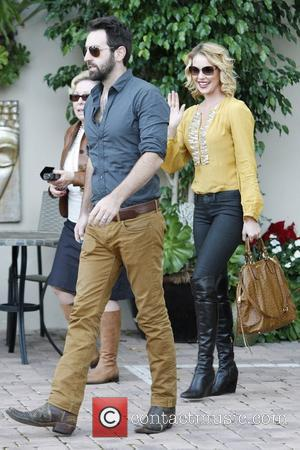 Josh Kelley, Nancy Heigl and Katherine Heigl Katherine Heigl is all smiles on her 34th birthday while out and about...