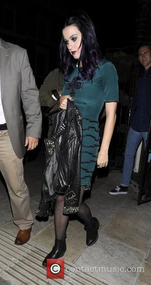 Katy Perry leaving The Dove pub in Hackney. London, England - 06.06.12