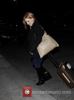 Jessica Chastain and New York