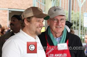Ben Ford and Harrison Ford