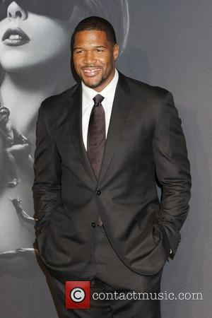 Michael Strahan Lady Gaga 'Fame' Fragrance Launch at the Guggenheim Museum  New York City, USA - 13.09.12