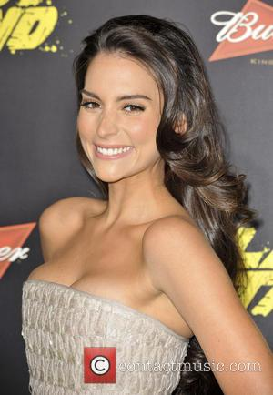 Genesis Rodriguez and Grauman's Chinese Theatre