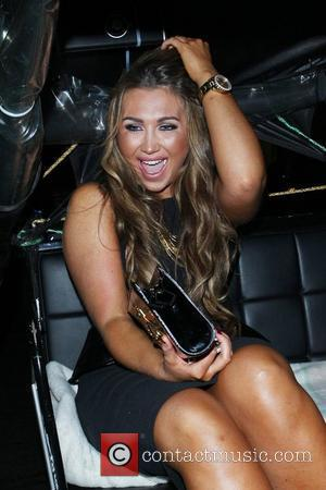 Lauren Goodger and Cafe De Paris