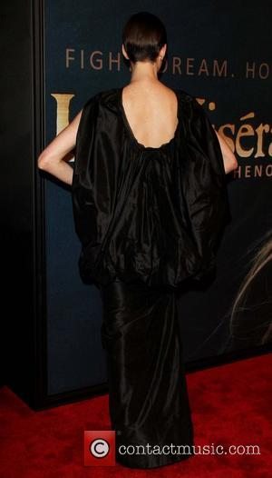 Pictures: Anne Hathaway And Amanda Seyfried's Outfits The Talking Point Of The New York Les Miserables Premiere