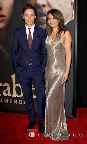 Eddie Redmayne and Samantha Banks 'Les Miserables' New York Premiere at the Ziegfeld Theatre -  Arrivals New York City,...
