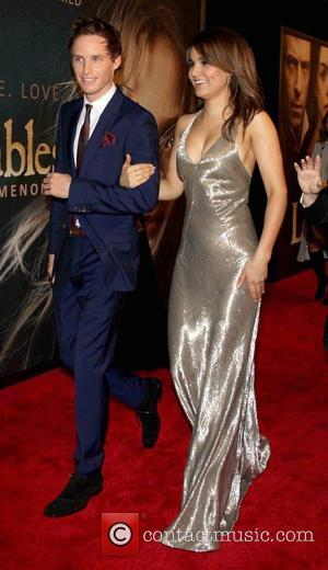 Eddie Redmayne, Samantha Banks and Ziegfeld Theatre