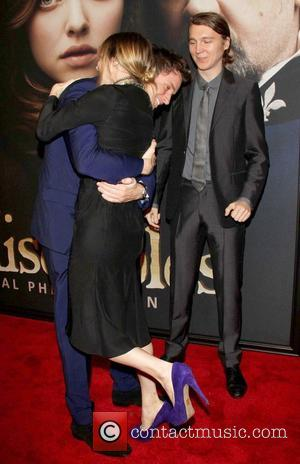 Eddie Redmayne, Zoe Kazan and Paul Dano 'Les Miserables' New York Premiere at the Ziegfeld Theatre -  Arrivals New...