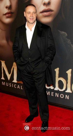 Russell Crowe and Ziegfeld Theatre