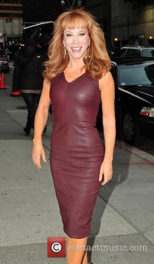 Kathy Griffin Kathy Griffin arrives at the Ed Sullivan Theater for 'The Late Show With David Letterman'  Featuring: Kathy...