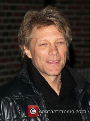 Jon Bon Jovi Late Show With David Letterman at the Ed Sullivan Theater  Featuring: Jon Bon Jovi Where: New...