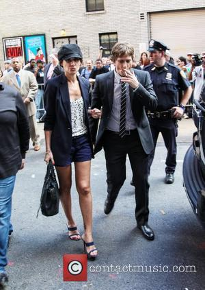 Rob Thomas at the Ed Sullivan Theater for the 'The Late Show with David Letterman'. New York City, USA -...