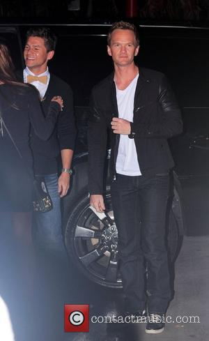 Neil Patrick Harris and David Burtka arrive to watch Madonna in concert at the Staples Centre Los Angeles, California -...