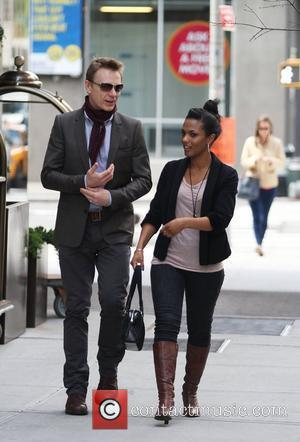 Actress Freema Agyeman leaving her Soho hotel in lower Manhattan New York City, USA - 02.04.12