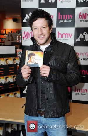 Matt Cardle signs copies of his latest album 'The Fire' at HMV Stockport  Featuring: Matt Cardle