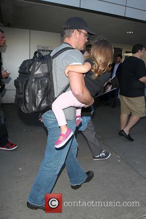 Matt Damon and Stella Damon