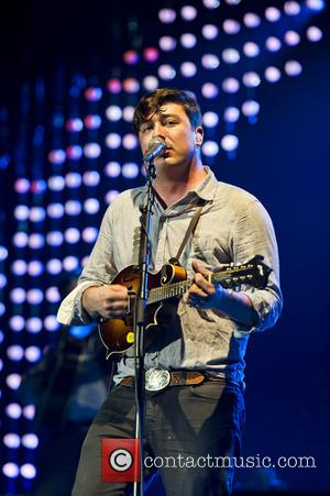 Mumford & Sons performing live in concert at the O2  Featuring: Marcus Mumford