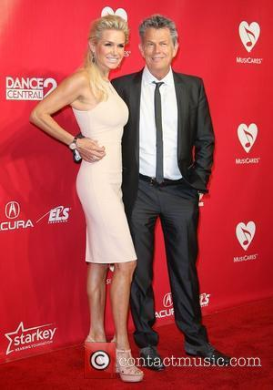 David Foster and Yolanda Hadid 2012 MusiCares Person Of the Year Gala Honoring Paul McCartney held at the Los Angeles...