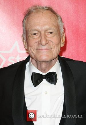 Hugh Hefner 2012 MusiCares Person Of the Year Gala Honoring Paul McCartney held at the Los Angeles Convention Center Los...