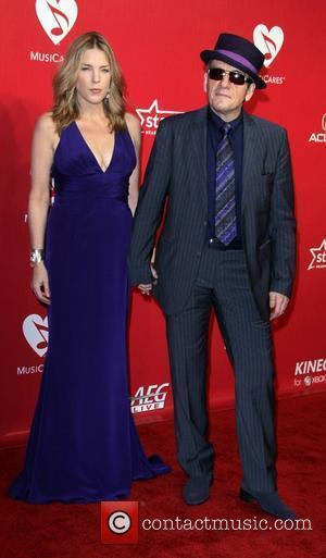 Diana Krall and Elvis Costello  2012 MusiCares Person Of the Year Gala Honoring Paul McCartney held at the Los...