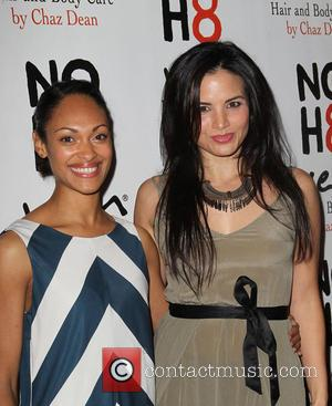 Cynthia Addai-robinson and Katrina Law