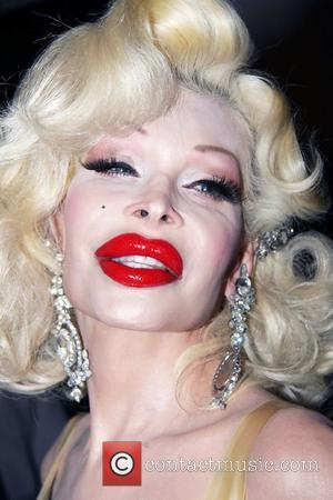 Amanda Lepore Mercedes-Benz New York Fashion Week Spring/Summer 2013 - The Blonds - Backstage New York City, USA - 11.09.12