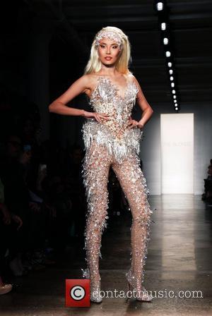 Model, Adam Lambert and New York Fashion Week