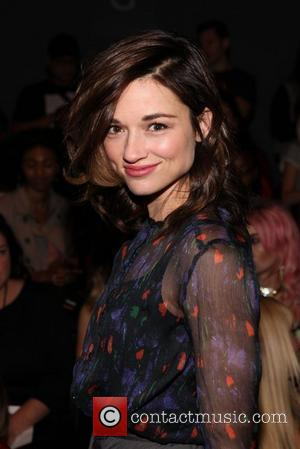 Crystal Reed Mercedes-Benz New York Fashion Week Spring/Summer 2013 - Emerson - Front row New York, NY - 09.09.12