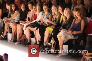 Lauren Conrad, Mandy Moore Mercedes-Benz New York Fashion Week Spring/Summer 2013 - Lela Rose - Front row New York, NY...