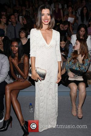 India de Beaufort Mercedes-Benz New York Fashion Week Spring/Summer 2013 - Mara Hoffman- Front row New York, NY - 08.09.12