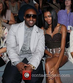 Rico Love, Jessica White Mercedes-Benz New York Fashion Week Spring/Summer 2013 - Mara Hoffman- Front row New York, NY -...