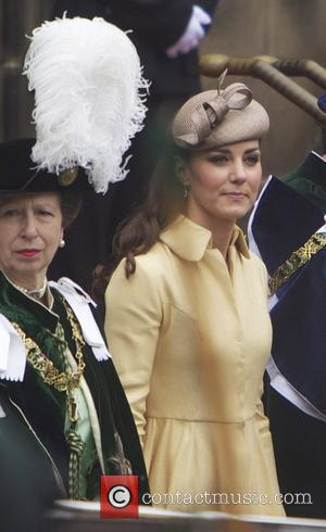 Princess Anne and Kate Middleton