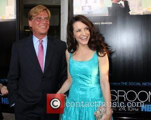 Aaron Sorkin, Kristin Davis  HBO's The Newsroom Los Angeles Premiere at Cinerama Dome Los Angeles, California - 20.06.12