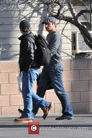 Nick Lachey Nick Lachey going to a recording studio in Hollywood with a friend  Featuring: Nick Lachey Where: Los...