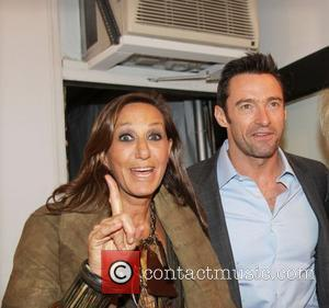 Donna Karan and Hugh Jackman