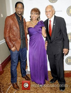 Blair Underwood and guests  The One Hundred Black Men, Inc. of New York City 32nd Annual Benefit Gala at...