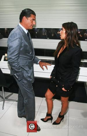 Jacob Arabo and Kim Kardashian attend The Palladium Jewelry By Jacob & Co. Launch Celebration hosted by W Magazine held...