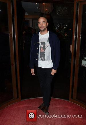 Nate James  Pearlys Launch party at the Sanctum hotel, Soho London, England - 16.05.12