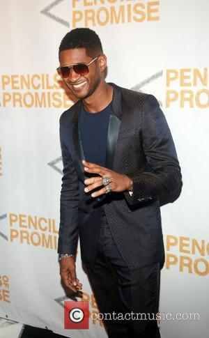 Usher Beats Jessica Szohr In Puppy Auction