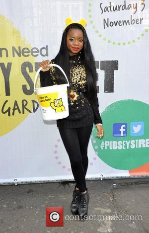 A*M*E AKA  Amy Kabba   BBC Children In Need's Pudsey Street - photocall  at the New Piazza,...