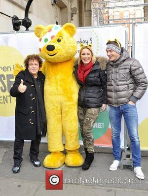 Leo Sayer, Pudsey, Kirk Norcross and Sam Faiers