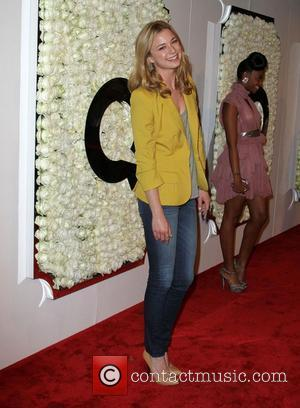 Emily VanCamp QVC presents The Buzz red carpet cocktail party held at The Four Seasons Hotel - Arrivals Los Angeles,...