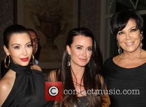 Kim Kardashian, Kris Jenner and Kyle Richards